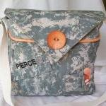 Recycled Army Shirt Diaper ..
